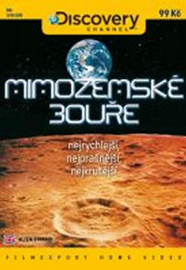 Mimozemské bouře - DVD digipack - neuveden - 13,8x18,6