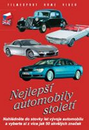 Nejlepší automobily století - DVD box - neuveden - 13,5x19