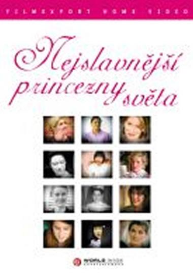 Nejslavnější princezny světa - DVD digipack - neuveden - 13,8x18,6