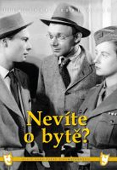 Nevíte o bytě? - DVD box - neuveden - 13,5x19