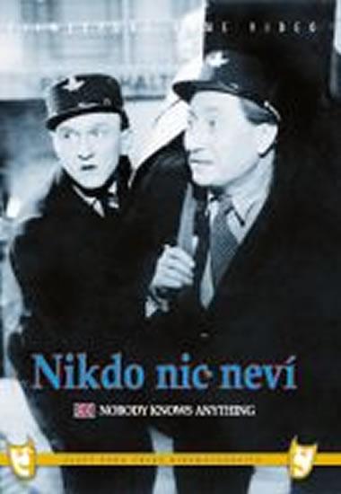 Nikdo nic neví - DVD box - neuveden - 13,5x19