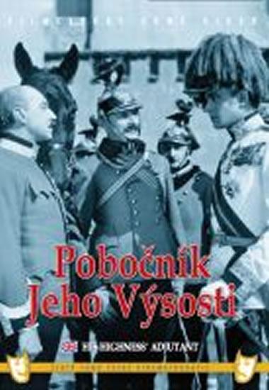 Pobočník Jeho Výsosti - DVD box - neuveden - 13,5x19