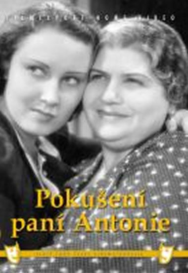 Pokušení paní Antonie - DVD box - neuveden - 13,5x19