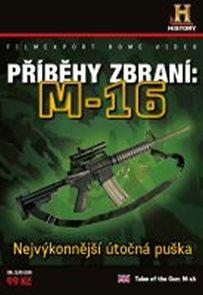 Příběhy zbraní: M16 - DVD digipack