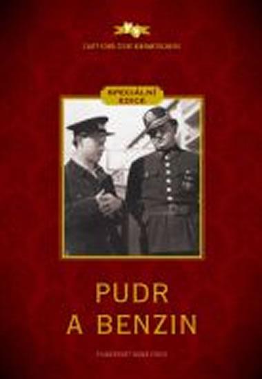 Pudr a benzin - speciální edice - DVD box v rukávu - neuveden - 13,5x19
