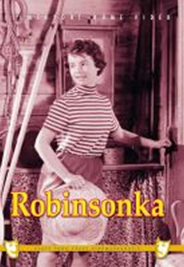 Robinsonka - DVD box - neuveden - 13,5x19