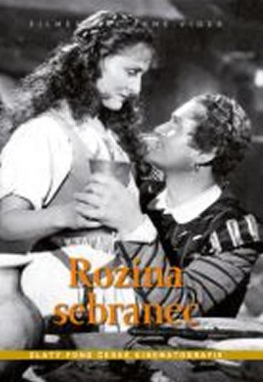 Rozina sebranec - DVD box - neuveden - 13,5x19