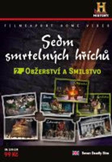 Sedm smrtelných hříchů 2. - Obžerství, Smilstvo - DVD digipack - neuveden - 13,8x18,6
