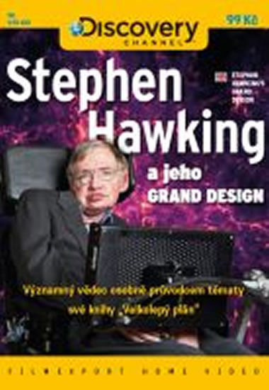 Stephen Hawking a jeho GRAND DESIGN - DVD digipack - neuveden - 13,8x18,6