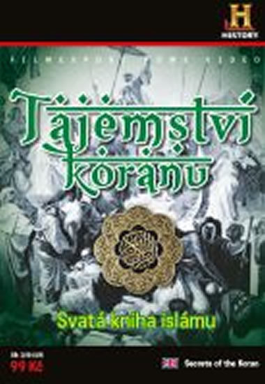 Tajemství koránu - Svatá kniha islámu - DVD digipack - neuveden - 13,8x18,6
