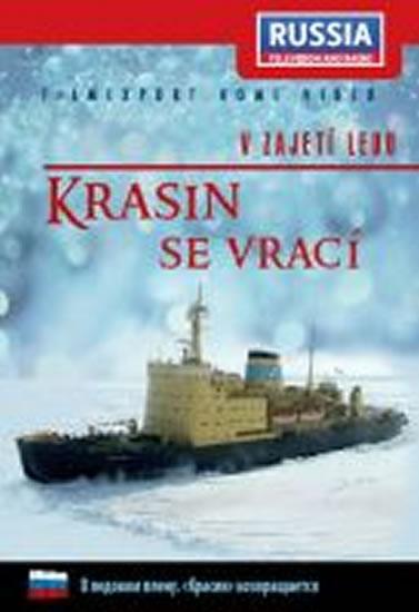 V zajetí ledu: Krasin se vrací - DVD digipack - neuveden - 13,8x18,6
