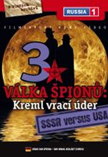 Válka špiónů: Kreml vrací úder 3. - SSSR versus USA - DVD digipack - neuveden - 13,8x18,6