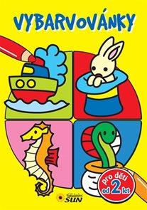 Vybarvovánky pro děti od 2 let (žlutá)
