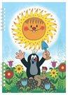 Krtek - školní zápisník A5