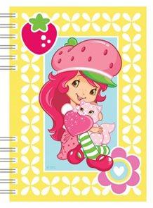 Strawberry - školní zápisník A6