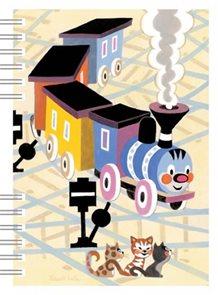Mašinka - školní zápisník A6
