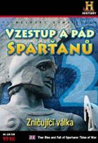 Vzestup a pád Sparťanů 2. - Zničující válka - DVD digipack