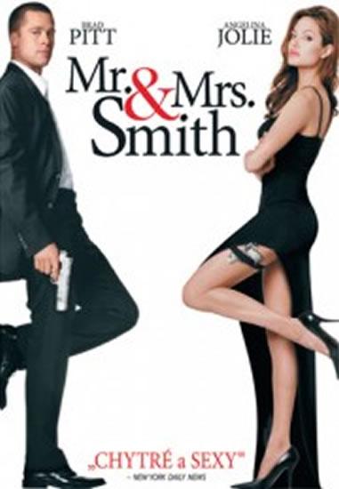 Pan a paní Smithovi - DVD - neuveden - 13,7x19