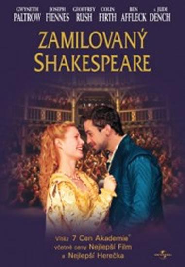 Zamilovaný Shakespeare - DVD - neuveden - 13,7x19