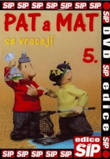 Pat a Mat 5. - DVD - neuveden - 14,7x21