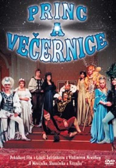 Princ a Večernice - DVD - Vorlíček Václav - 14,7x21