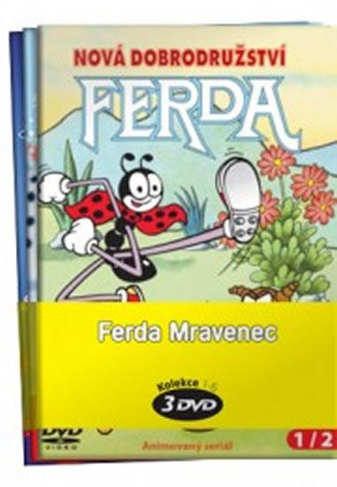 Ferda Mravenec - kolekce 3 DVD - Sekora Ondřej - 15x21