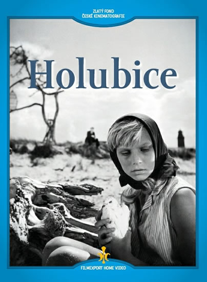 Holubice - DVD (digipack) - neuveden - 13,7x18,7
