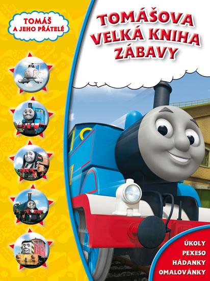 Tomáš - Velká kniha zábavy - Disney Walt - 21x28