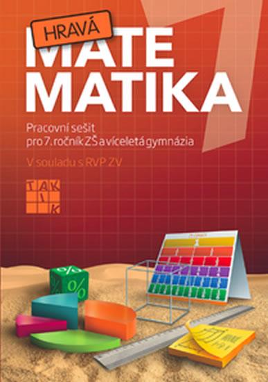 Hravá matematika 7 - PS pro 7. ročník ZŠ a víceletá gymnázia - Peráčková Veronika a kolektiv - 21x29,7