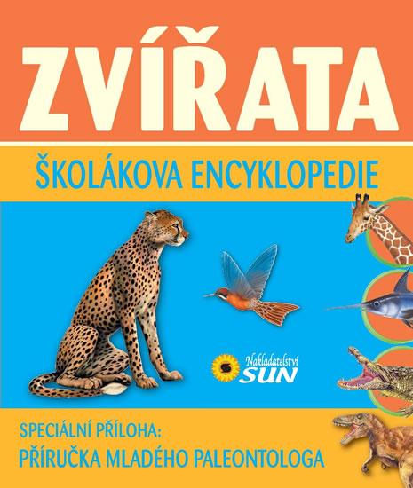 Zvířata - Školákova encyklopedie - neuveden - 16,7x18,5