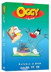 Oggy a švábi 16 - 18 / kolekce 3 DVD