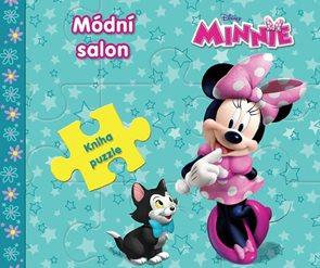 Minnie Módní salon - Kniha puzzle