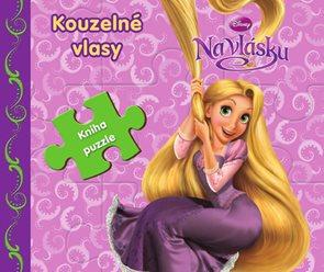 Na vlásku Kouzelné vlasy - Kniha puzzle