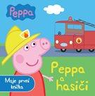 Prasátko Peppa a hasiči - Moje první knížka