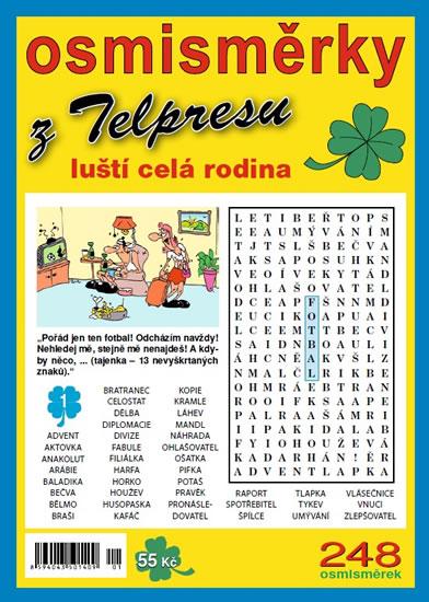 Osmisměrky z Telpresu luští celá rodina 2/2014 - 248 osmisměrek - Mazáč Pavel - 16,5x23
