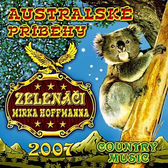 Zelenáči Mirka Hoffmanna - Australské příběhy - CD - neuveden - 12,5x14,2
