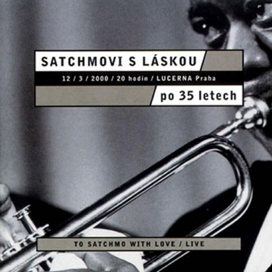 Satchmovi s láskou - CD - neuveden - 12,5x14,2