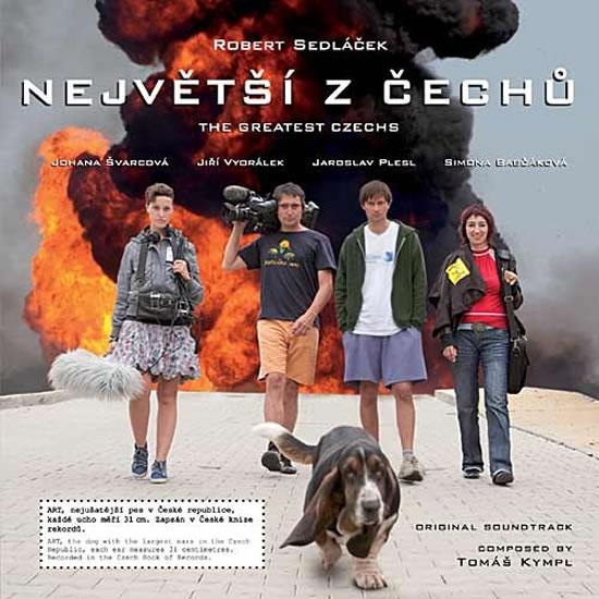 Největší z Čechů - CD (hudba z filmu) - neuveden - 12,5x14,2