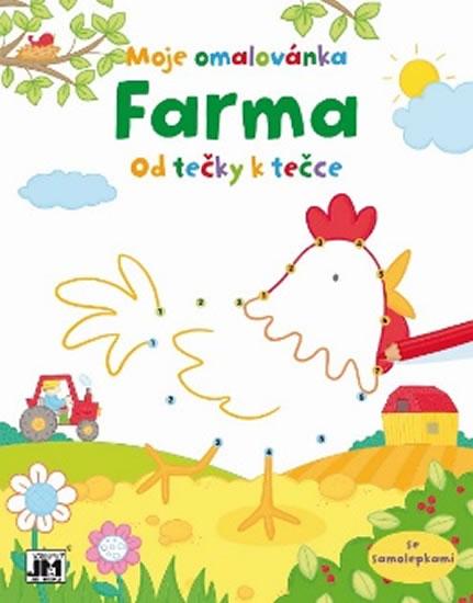 Farma - Malování od tečky k tečce - neuveden - 21,7x27,6